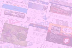 Websites custom designed