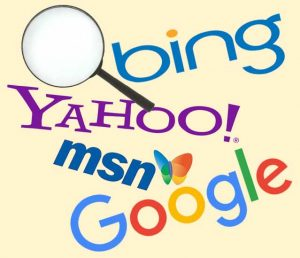 Search engine artwork